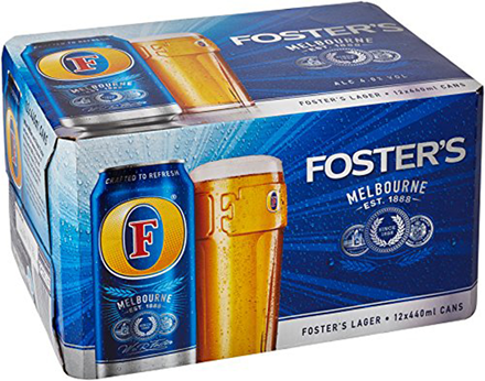 foster 4 x 6pk cans (24 cans)