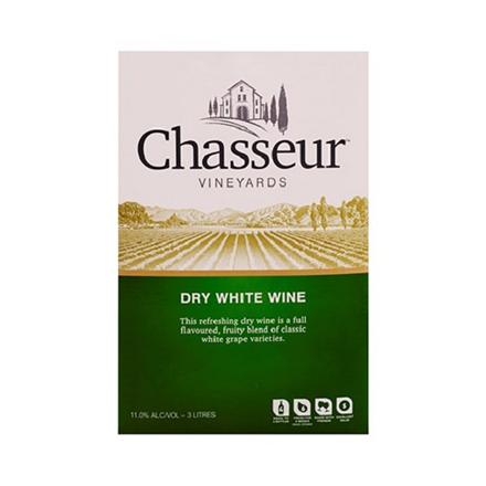 CHASSEUR DRY WHITE 3L CHASSEUR DRY WHITE 3L