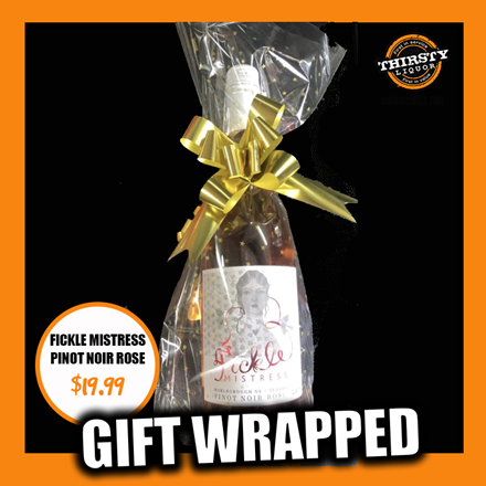 Fickle Mistress Pinot Noir Gift Wrapped Fickle Mistress Pinot Noir Gift Wrapped