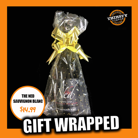 THE NED SAUVIGNON BLANC GIFT WRAPPED NED SAUVIGNON BLANC GIFT WRAPPED